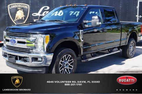 Pre-Owned 2017 Ford F-250SD 4WD 4D Crew Cab