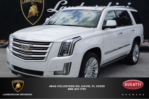 Pre-Owned 2017 Cadillac Escalade Platinum Edition RWD 4D Sport Utility