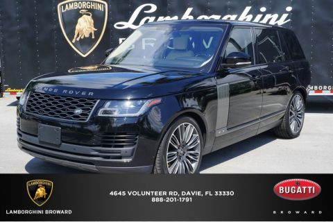 Pre-Owned 2018 Land Rover Range Rover 5.0L V8 Supercharged 4WD 4D Sport Utility