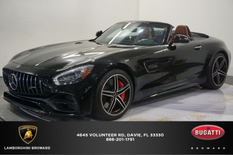 Pre-Owned 2018 Mercedes-Benz AMG® GT C RWD 2D Convertible