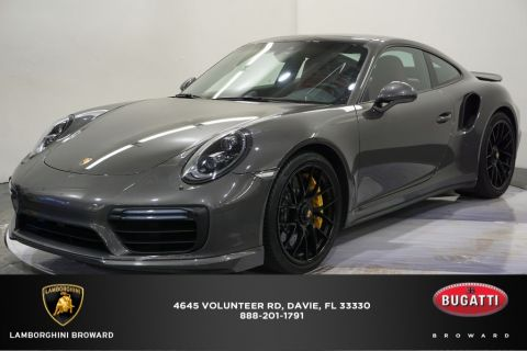 Pre-Owned 2017 Porsche 911 Turbo S AWD 2D Coupe