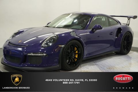 Pre-Owned 2016 Porsche 911 GT3 RS RWD 2D Coupe