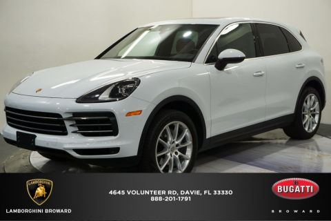 Pre-Owned 2019 Porsche Cayenne Base AWD 4D Sport Utility
